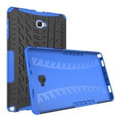 2-In-1 Tahan Guncangan Stand Cover Case untuk Samsung Galaxy Tab A A6 10.1 2016 P580 P585 (Versi S Pen)