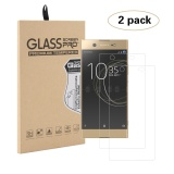 Spek 2 Pack Ultra Clear Hd Tempered Glass Screen Protector Untuk Sony Xperia Xa1 Ultra Transparan Intl
