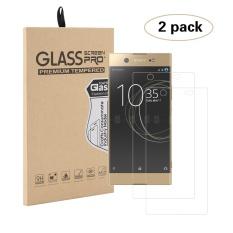 Diskon 2 Pack Ultra Clear Hd Tempered Glass Screen Protector Untuk Sony Xperia Xa1 Ultra Transparan Intl Moonmini