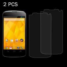 2 PCS for LG Nexus 4 / E960 0.26mm 9H Surface Hardness 2.5D Explosion-proof Tempered Glass Screen Film - intl