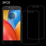 Review Toko 2 Pcs Untuk Motorola Moto C Plus 3Mm 9 H Permukaan Kekerasan 2 5D Explosion Proof Tempered Glass Full Screen Film Intl