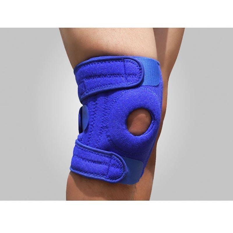 Spesifikasi 2 Pcs Knee Brace Support Sports Bantalan Lutut Basketball Buka Patella Band Knee Cap Protector Adjustable Intl Paling Bagus