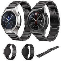 Jual 2 Pcs Stainless Steel Metal Replacement Smart Watch Strap Bracelet For Samsung Gear S3 Frontier S3 Classic Smartwatch Black Intl Oem Murah