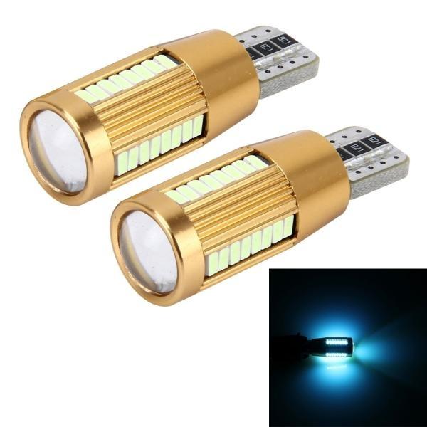 Harga 2 Pcs T10 2 W Arus Konstan Mobil Clearance Light Dengan 38 Smd 3014 Lampu Dc 12 16 V Ice Biru Light Intl Sunsky Asli