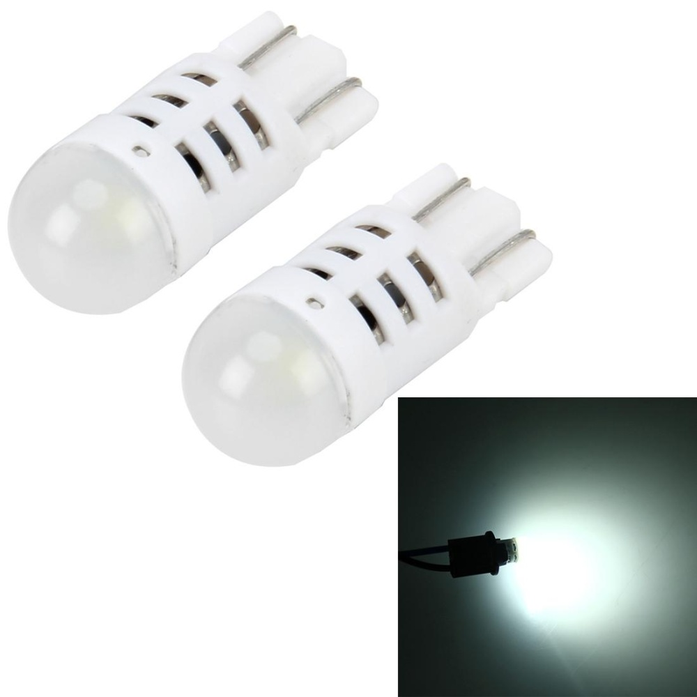 Harga 2 Pcs T10 3W 200Lm 6000K Car Clearance Lights Car Marker Light With 1 Smd 3030 Led Lamps Dc 12V White Light Intl Branded