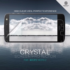 2 Pcs/lot NILLKIN Super Clear HD Layar Pelindung Anti-sidik Jari untuk Motorola MOTO Z Droid 5.5 Inch dengan Paket Eceran (Clear) -Intl