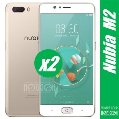 2 Pieces Bundle ZTE Nubia M2 0.3mm 9 H Kekerasan 2.5D Explosion-proof Full Screen Tempered Glass Screen Film-NOZIROH-Intl