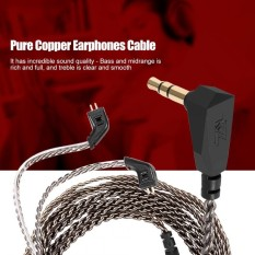 Jual 2 Pin Pure Copper Wire Earphones Cable Detachable Audio Cord For Kz Zst Ed12 Es3 Zsr Headphone Intl Di Bawah Harga