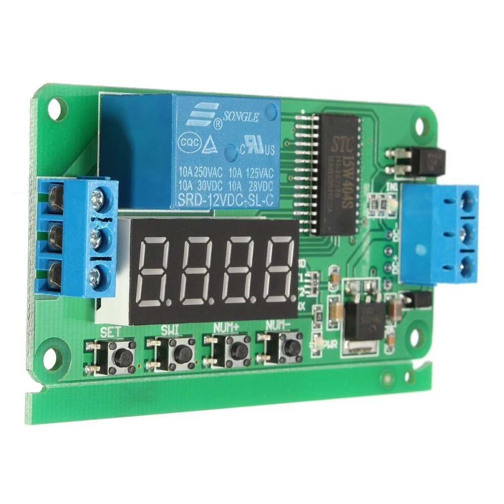 220vac Timer Delay Switch Module Adjustable Timing Turn Off Omron H3y 2 Relay 12v 60 Detik Rp 238000 3 X Dc Multifunction Plc Self Lock Cycle