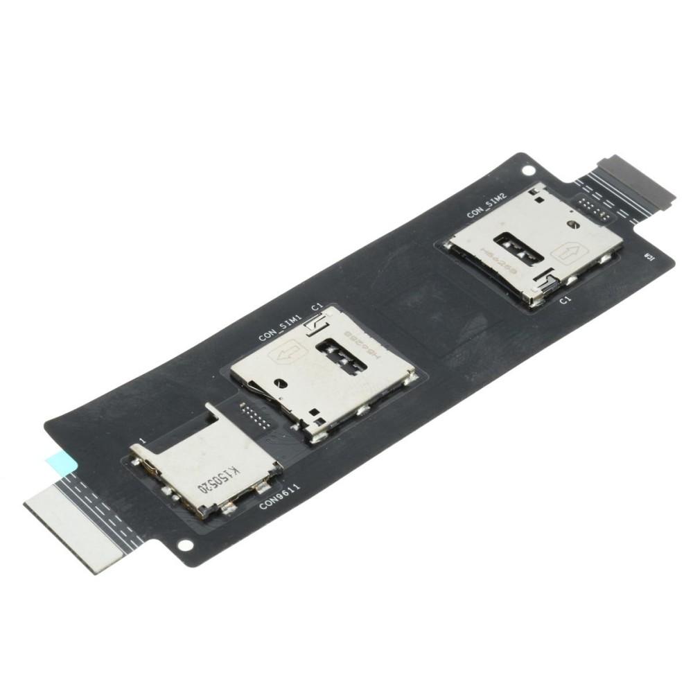 2 X Ganda SIM Fleksibel untuk ASUS ZenFone 2-Internasional