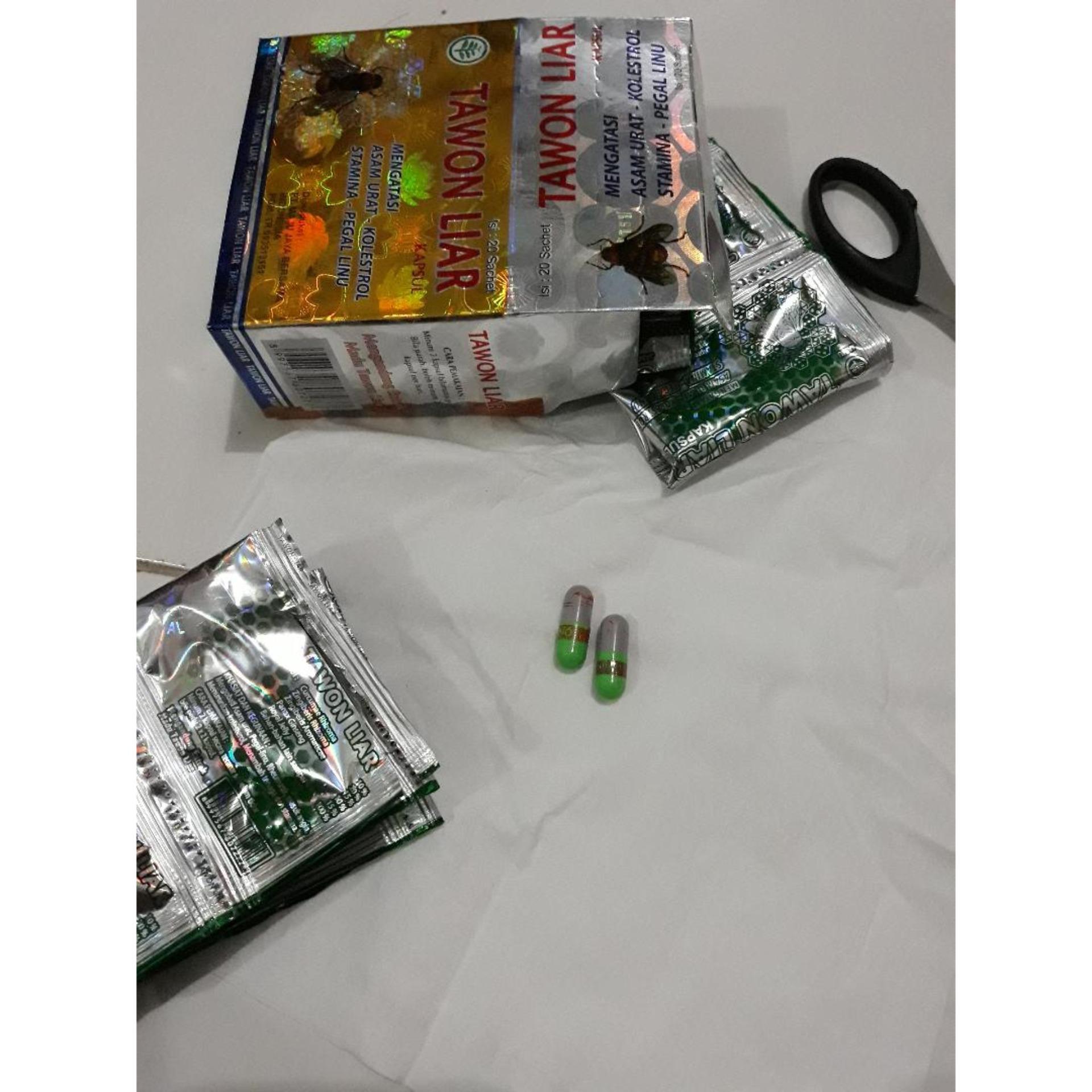 10 BOX-Tawon Liar Capsul-Sachet Hijau Silver.Box HOLOGRAM.IDR400000. Rp 800.000
