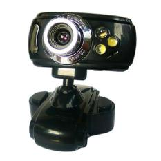 Jual 20 Mega Usb 3 Led Webcam Cam Camera Pc Laptop Mic Ps Black Intl Oem Asli