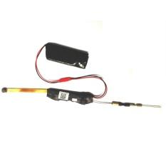 2.0 MP Mini Nirkabel 1080 P Spy HD Kamera Tersembunyi WifiModuleH.264Hisilicon DVR Video IP P2P Perekam W/Baterai (HITAM) -Intl