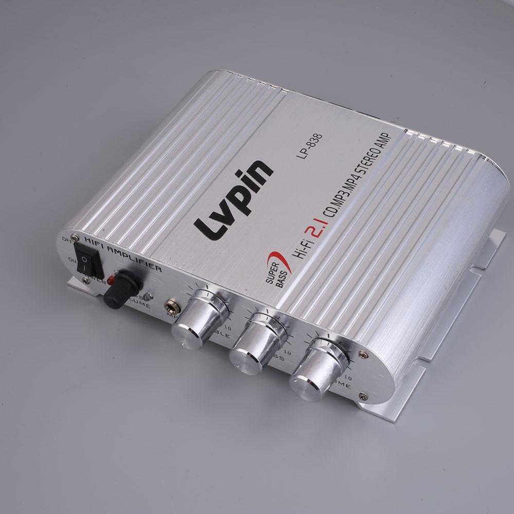Beli 200 W Hi Fi Amplifier Booster Pemutar Radio Mp3 Stereo Untuk Review Mobil Motor Auto Online Tiongkok