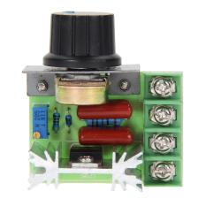2000 W Scr Tegangan Elektronik Regulator Speed Controller Dimmer Thermostat-Intl By Crystalawaking.