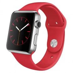 Harga 2017 Gsm Smart Watch Phone Sport Fashion Touch Screen Bluetooth Jam Tangan Untuk Android Ios Ponsel Merah Asli