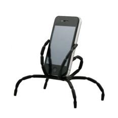 2016 Tinggi Kualitas Keren Desain Cute Spider Holder untuk Ponsel (Putih)