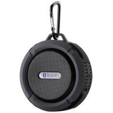 Toko 2016 Wireless Portabel Speaker Tahan Air Hitam Online Terpercaya