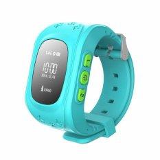 2016 Smart Kid Aman GPS Watch Jam Tangan SOS CallLocationFinderLocator Tracker untuk Kid Anak Anti-hilang Monitor BabyGift Q50Blu-Intl