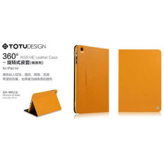 TOTU 360 Kiss Me Leather Case Ipad Air 1 - Yellow/Black