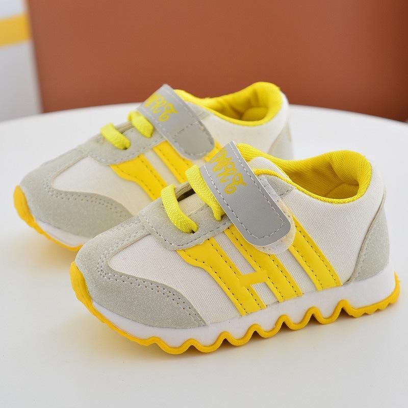 Spesifikasi 2017 Anak Olahraga Sepatu Bayi Pediatric Kanvas Lembut Sepatu Bersol Kuning Intl Yang Bagus Dan Murah