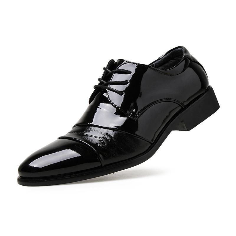 Beli 2017 Baru Nomor Fashion Milik Putra Sepatu Kulit Murni Warna Kulit Sepatu Intl Online