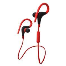 2017 Ledakan 4.1 Gantungan Telinga Jenis Headset Bluetooth Telepon Seluler Universal Nirkabel Stere7-Intl