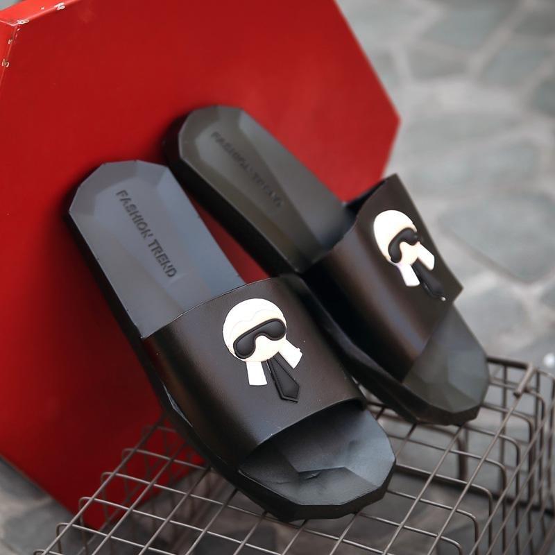 Review Toko 2017 Kasual Fashion Tumis Datar Sandal Bernapas Karet Sandal Intl