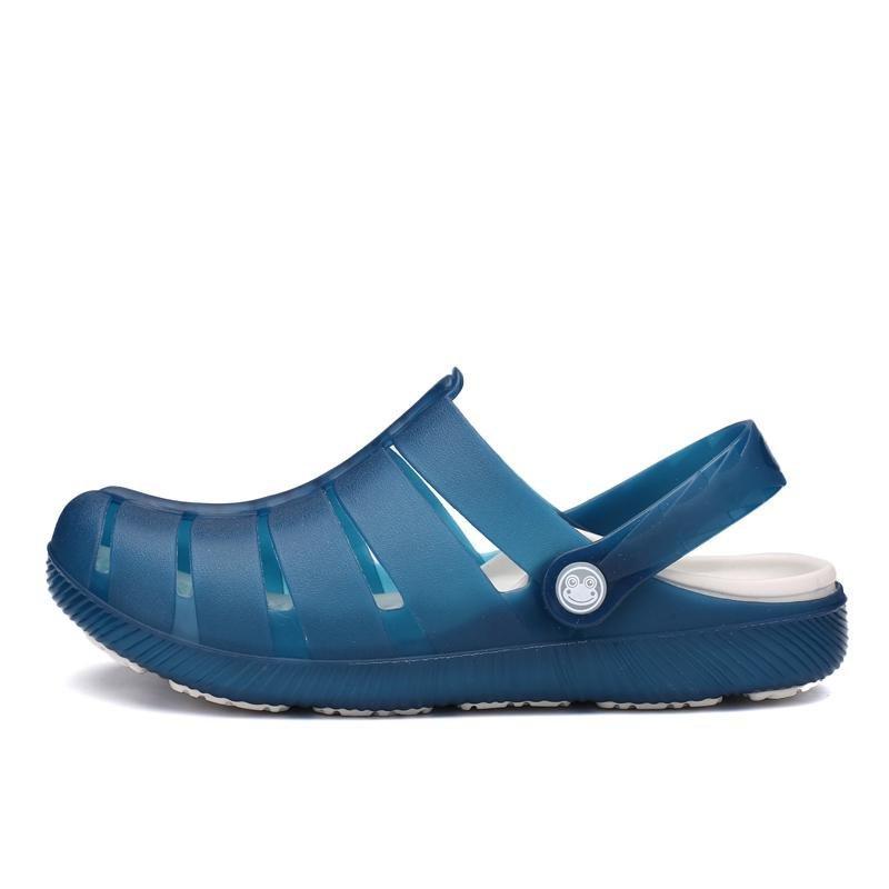Jual Cepat 2017 Kasual Fesyen Pria Gaya Baru Sandal Hole Roman Sepatu Intl