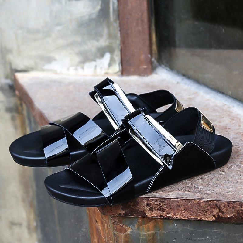 Beli 2017 Men S Summer Trend Sandal Kasual Sandal Sepatu Intl Tiongkok