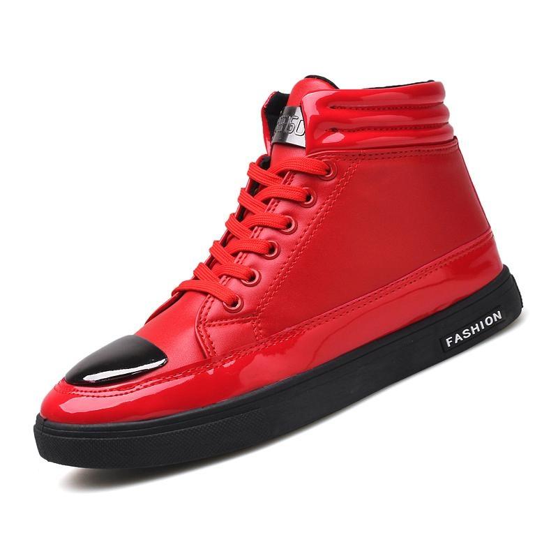 Beli 2017 Musim Gugur Dan Musim Dingin Korea Versi Baru Dari Pria Tinggi Sepatu Hitam Fashion Retro Pendek Boots Santai Setiap Hari Sepatu Intl Dengan Kartu Kredit