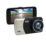 Spesifikasi 2017 New 4 Inches Dual Lens Car Dvr Camera Full Hd 1080P Auto Dash Cam Video Recorder Without Rear View Cameras Intl Murah