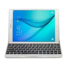 2017 Baru Aluminium Alloy Bluetooth keyboard Nirkabel keyboard untuk Samsung Tab A 9.7 T550-Intl