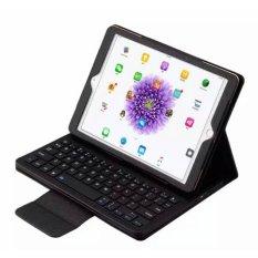 2017 BARU Dilepas Nirkabel Bluetooth Smart ABS Keyboard dengan Magnetik Multi-sudut Folio PU Kulit Case Cover untuk Samsung Galaxy Tab S3 9.7 T820/T825-Intl