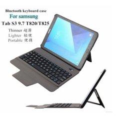 2017 Baru Ultra Tipis Ringan Bluetooth Keyboard Case untuk Samsung Tab S3 9.7 T820/T825 (Hanya 0.4 CM) -Intl