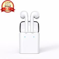 Beli 2017 Terbaru Nirkabel Headset Dacom Asli Tws Fone De Ouvido Bluetooth Earphone Stereo Earphone Earpiece Dengan Mic Universal Udara Pods Untuk Desain Khusus Iphone 7 Intl Kredit