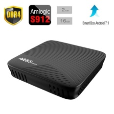 2017 Terbaru M8S PRO Android 7.1 TV BOX 2 GB + 16 GB Amlogic S912 64bit Octa Core ARM Cortex-A53 CPU Hingga 2 GHz Built In 2.4G/5g WiFiWith Bluetooth 4.1 + HS-Intl