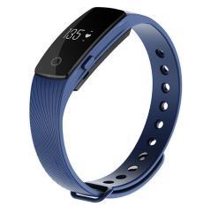 2017 Smart Gelang Jam Tangan Monitor Denyut Jantung Arloji Tahan Air Sport Kebugaran Tracker Smartwatch Gelang untuk Android IOS-Intl
