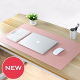 Review 2018 Super Large Size Optional Mouse Pad Pu Leather Natural Material Waterproof Soft 80X40Cm Intl Oem Di Tiongkok