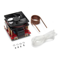 20A ZVS induction heating board Flyback driver heater DIY Cooker+ ignition coil - intl