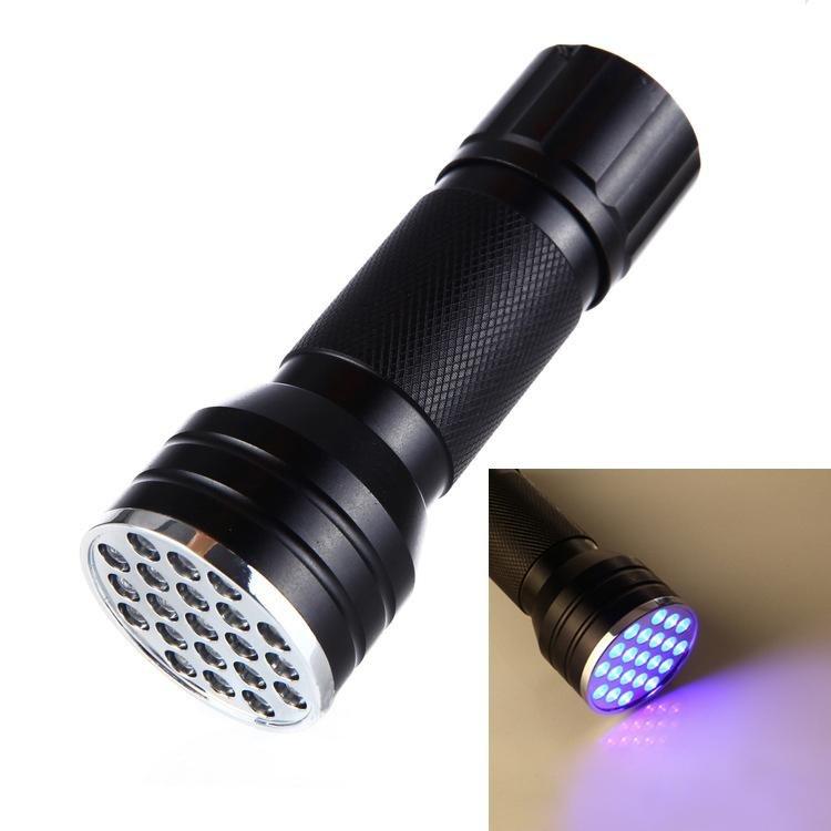 Beli 21 Dipimpin Uv Ultra Violet Hitamlight Saku Senter Mini Torch Light Lampu Portabel Uang Palsu Pendeteksi Online