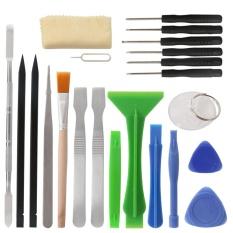 Spesifikasi 22 In 1 Ponsel Perbaikan Tangan Alat Kit Obeng Set Pinset Logam Spudger Plastik Pry Alat Pembuka Intl Lengkap Dengan Harga