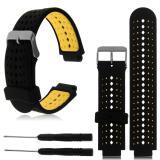 Diskon 22Mm Silicone Wristband Watch Straps Untuk Garmin Forerunner 235 630 230 Gps Watch Intl Branded