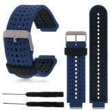 Diskon 22Mm Silicone Wristband Watch Straps For Garmin Forerunner 235 630 230 Gps Watch Hong Kong Sar Tiongkok
