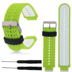 Spesifikasi 22Mm Silicone Wristband Watch Straps Untuk Garmin Forerunner 235 630 230 Gps Watch Intl Merk Oem