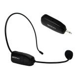 Spesifikasi 2 4G Mikrofon Nirkabel Headset Megafon Radio Mic Untuk Loudspeaker Amerika International Dan Harganya
