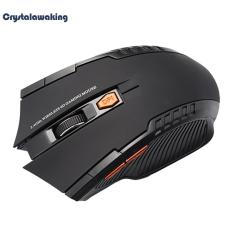 Jual Beli 2 4 Ghz Nirkabel 2400 Dpi 6 Tombol Usb Optical Gaming Mouse Hitam Intl Di Hong Kong Sar Tiongkok