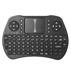 2.4 GHz Wireless Keyboard Air Mouse Touchpad Handheld Remote Control untuk Android TV BOX PC Smart TV-Internasional