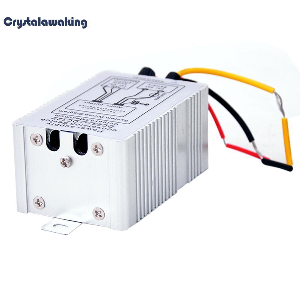 Beli 24V Dc Dc 12V Mobil Power Supply Inverter Converter Konversi Perangkat 5A Oem Dengan Harga Terjangkau