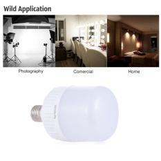 Promo 24 W E27 Fotografi Bulb Light Lamp 54 Pcs Hemat Energi Beads 5500 K Daylight Untuk Studio Video Rumah Komersial Lighting Intl Oem Terbaru
